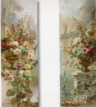 供应美式法式油画 欧式油画 客厅油画 卧室整套油画图片