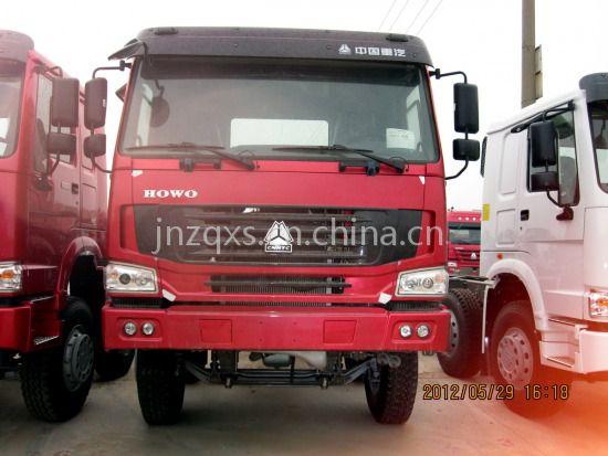 2017款豪沃375马力自卸车