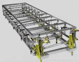 供应舞台桁架灯光架焊接工装夹具|柔性组合焊接工装夹具图片
