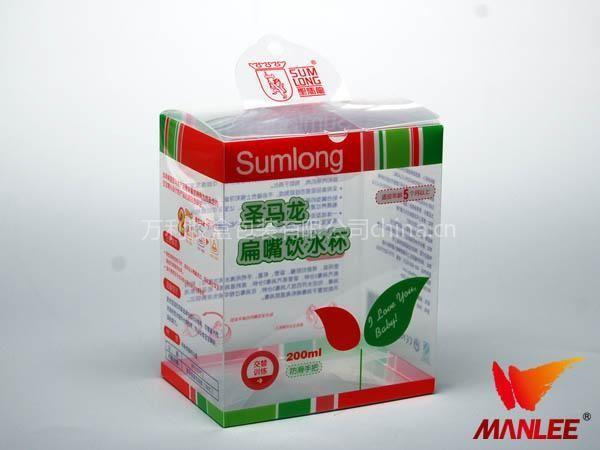 PVC盒子塑料盒,圆筒形化妆品盒子,万利胶盒厂