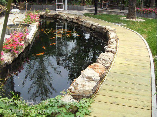 设计别墅别墅生化建造就是供应过滤泳池系统水池广州鱼池花园出门图片