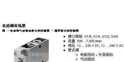 【供应湖南地区费斯托总代理,费斯托气动报价,mfh-3-3图片