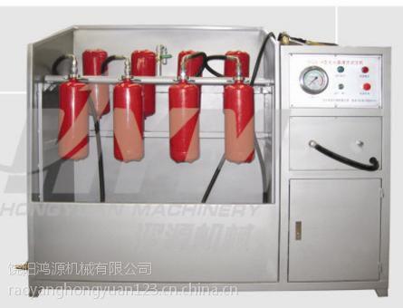 内蒙鸿源灭火器氮气冲压加压机价格低廉 操作简单