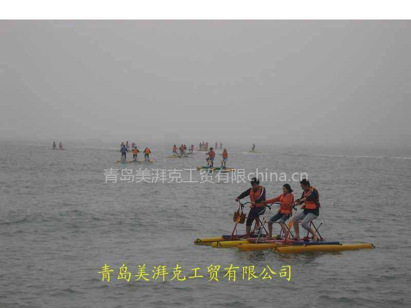 水上自行车哪种质量好 美湃克水上自行车更适合海水使用
