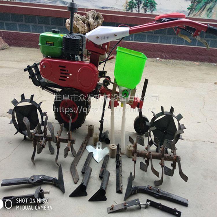 葡萄园旋耕机 家庭用手推式除草机 家用耕地机械