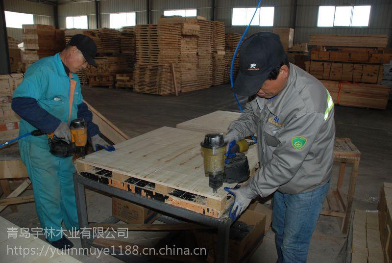 山东叉车木拖盘平板木盘1.1m现货供应批量专业快速