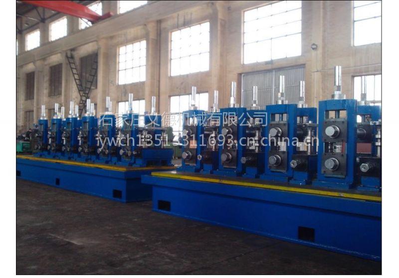 高频焊管生产线工艺流程