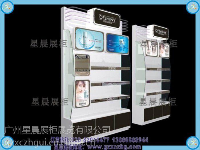 广州星晨展柜厂化妆品店装修设计化妆品展示柜会需要ui什么设计师都图片