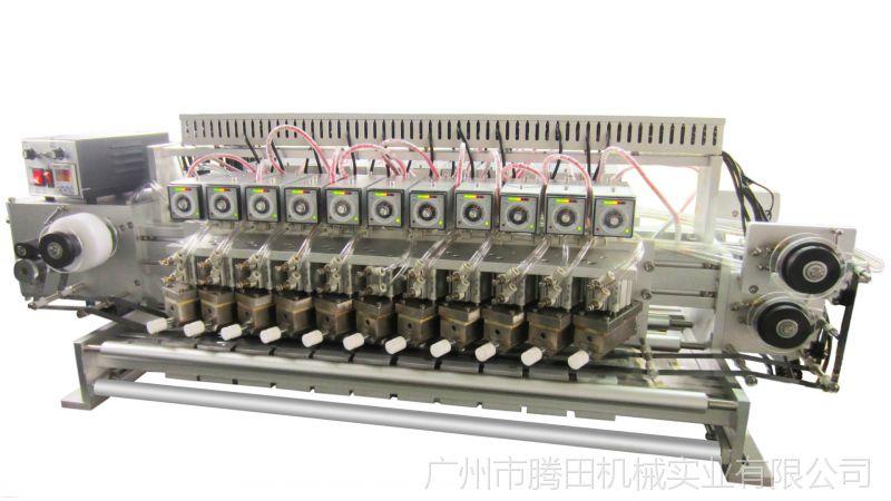【供应多列式气动热打码机,多头式打码机,多模印字机】图片图片