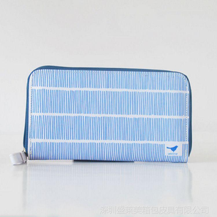 钱包钱包女士蓝色布大全纸卡手拿帆布大图厂家丁车钱包v钱包图片