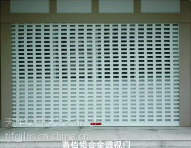天津南开区安装电动卷帘门经验十足