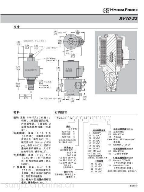CXCD-XCN流量60L/min 插孔t-13a 安装扭矩 45-50