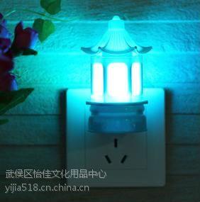 新奇特七彩变色小夜灯 LED灯创意礼品 个性定制 成都怡佳文化礼品