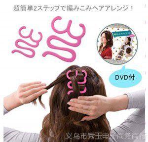 M14韩版图片头发烫发器v图片发型夹编发辅助器烫盘发发型短发2017女编发图片