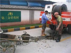 绍兴县稽东镇社区污水管道疏通