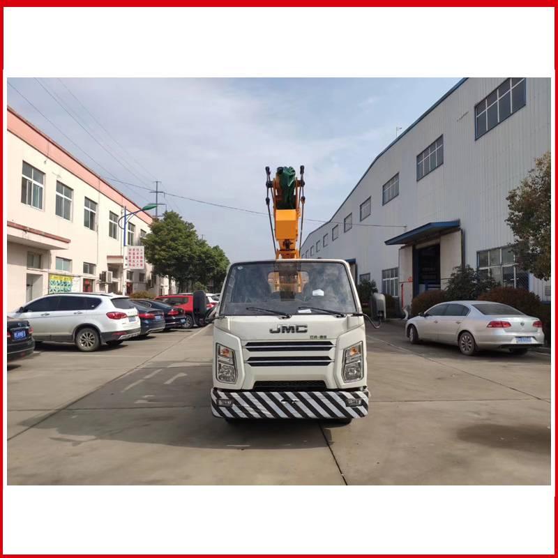 宝山区18米路灯检修车 双排座路灯车