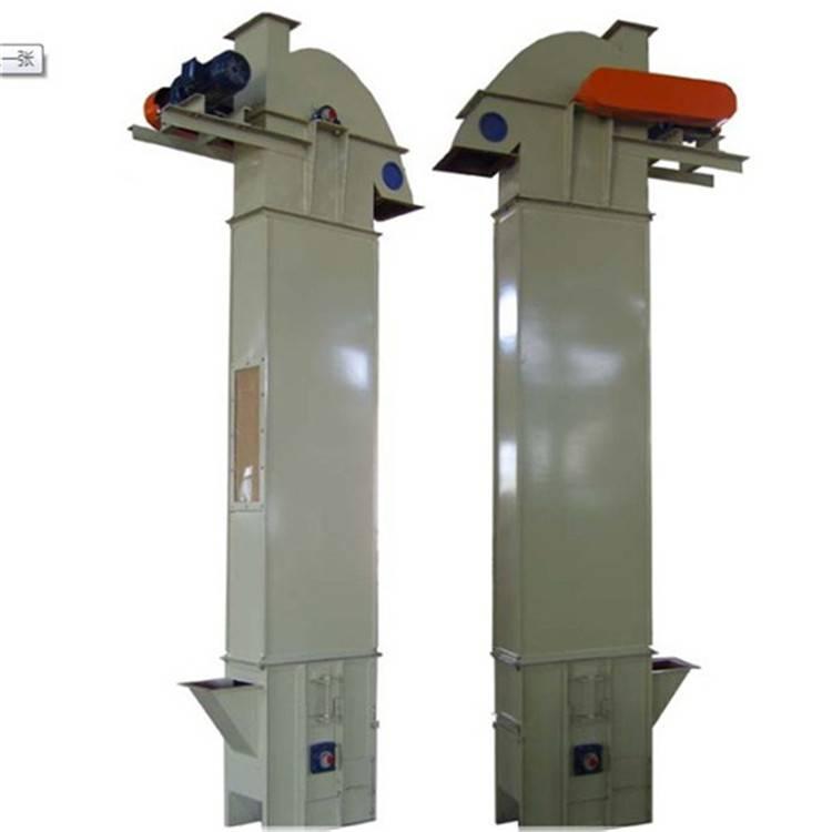 稻谷钢斗式提升机 循环连续式上料机 垂直仓储用送料机