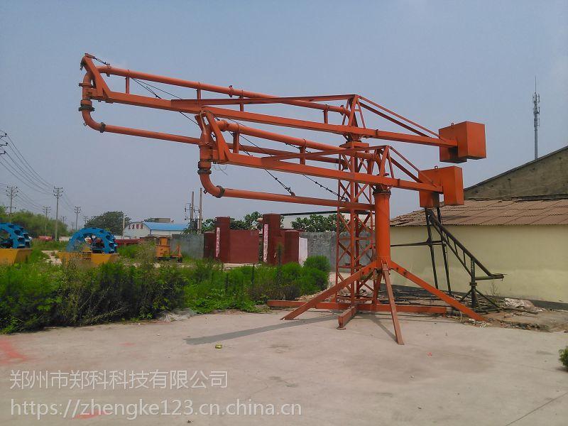 贵溪郑科HG15型电动布料机泵送施工用