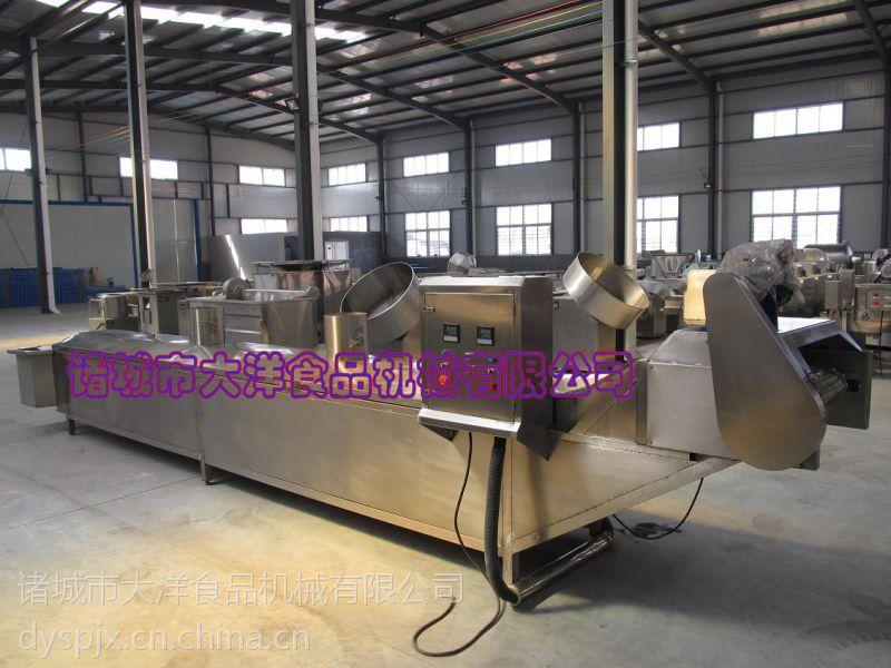 不锈钢猪肉漂烫线 LPT型双温果蔬杀青机器