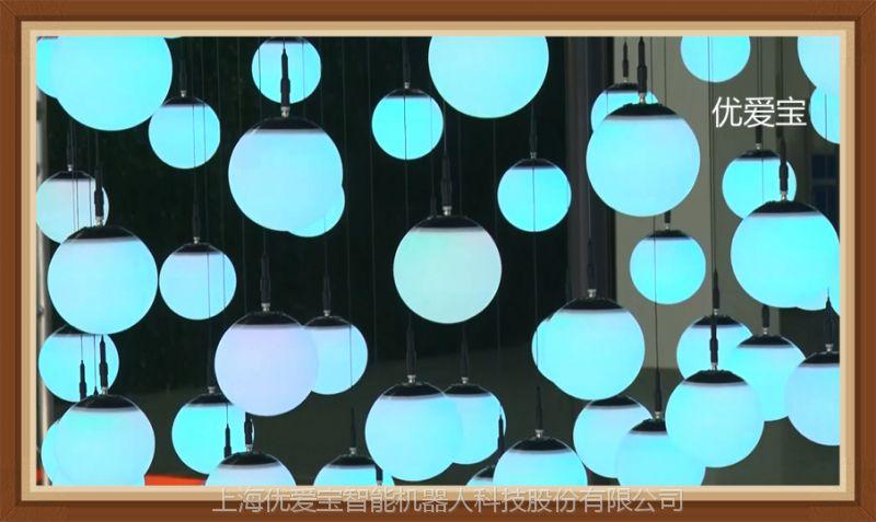 动态浮球矩阵 三维浮球矩阵示意图