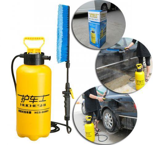 供应8升便携式家用洗车器,自助洗车机图片