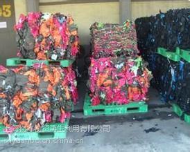 上海服装废弃处理昆山过时淘汰服装衣服销毁次品衬衫销毁