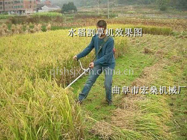 小型除草锄草机 四冲程除草割灌松土机