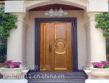 铸铝门是高端门行业中的精品