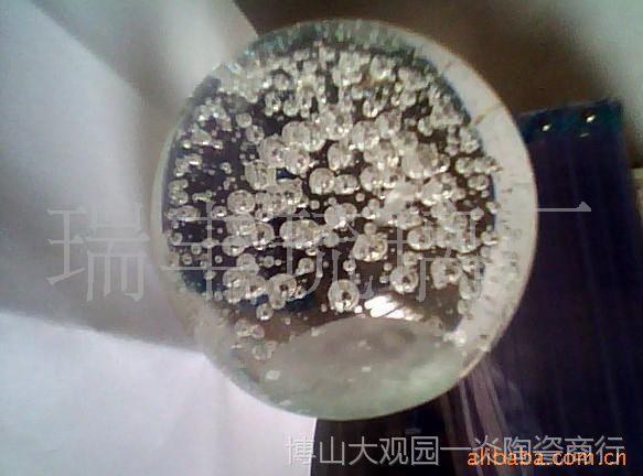 供应90mm气泡球 水晶气泡球 水晶球 礼花球