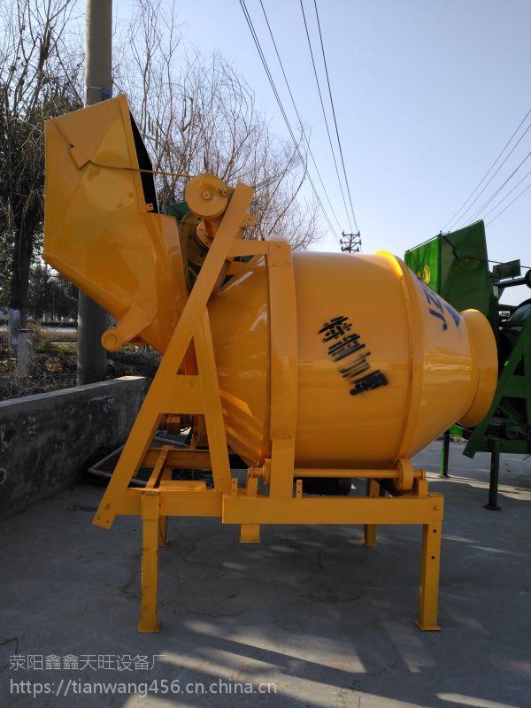 安徽阜阳天旺350A/B半自动/全自动搅拌机结构