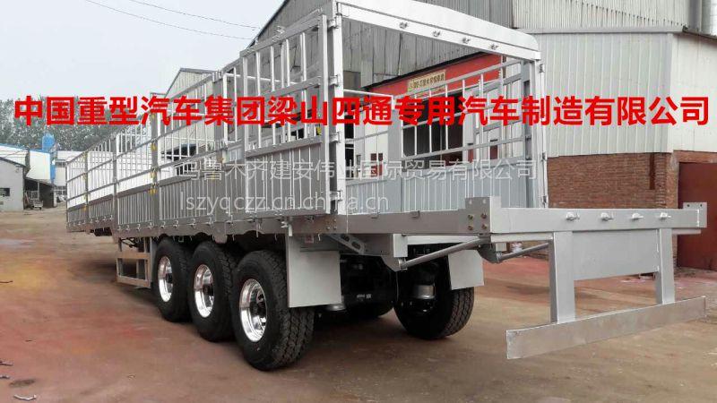 乌鲁木齐凯迪捷牌平板式铝合金挂车加工定制厂家供应