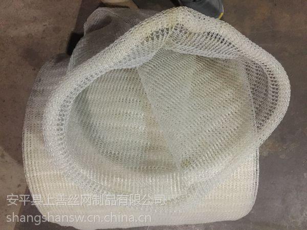 PP塔内空气过滤网 聚丙烯除雾网 高效除雾分离蒸气雾沫 耐酸碱 安平上善批发