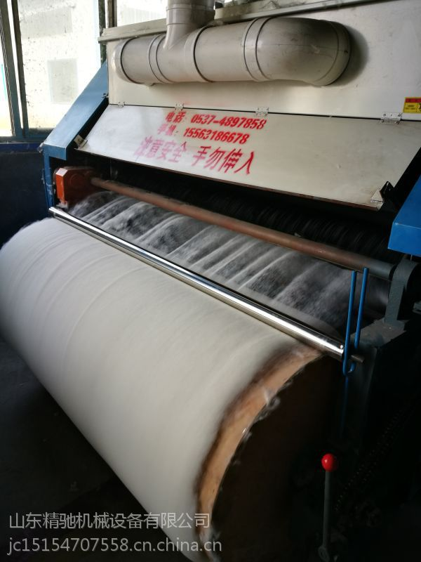 大型除尘梳理机哪里卖的好用 自动进棉的梳理机多少钱