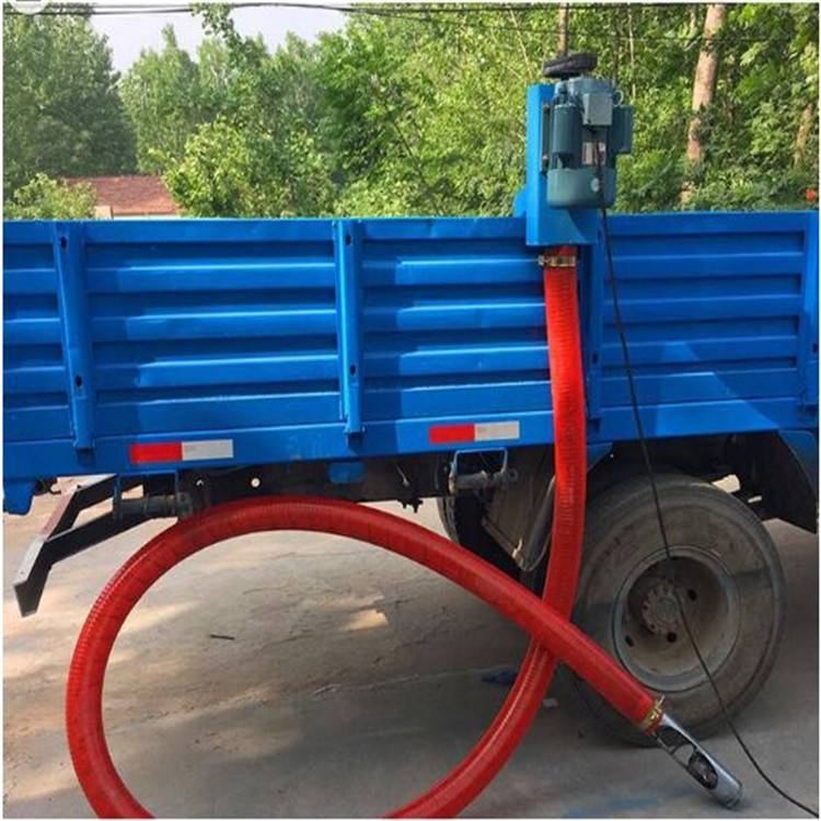 电动螺旋吸粮机 粮食倒运输送机 粮库抽粮机