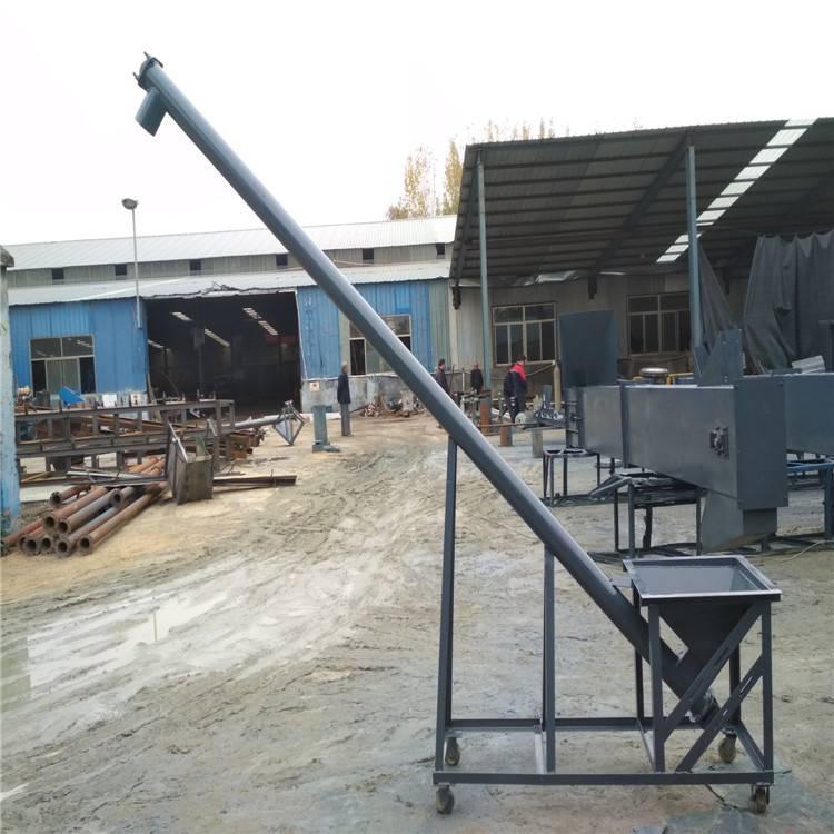 汇众TL16型蛟龙上料机 油菜籽螺旋提升机 耐高温圆管加料机