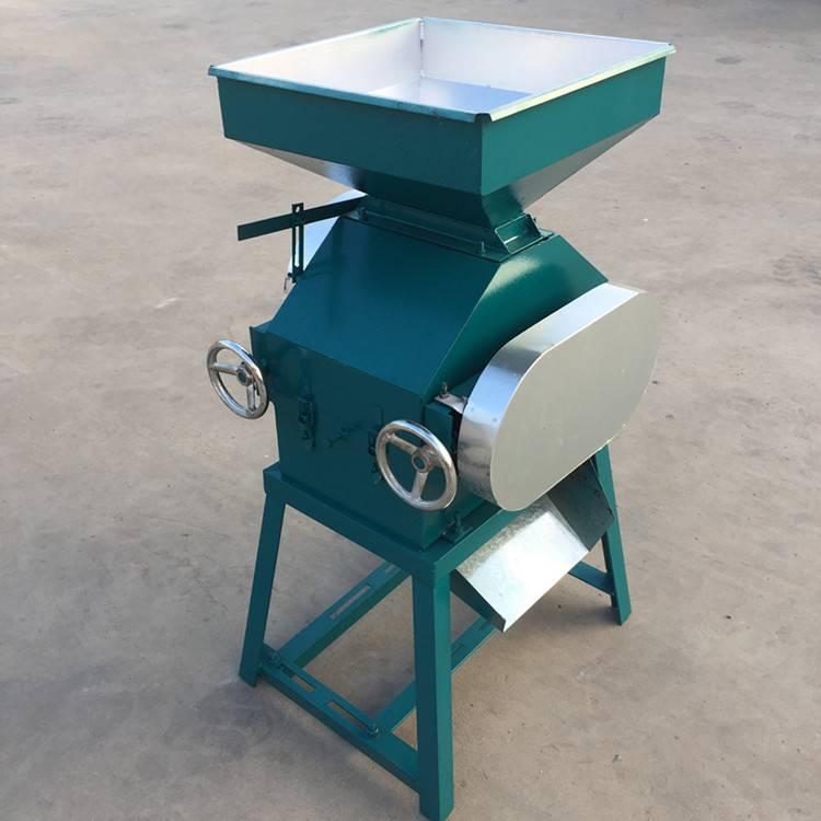 粮食挤扁机黑豆挤扁机新款压扁机的价格厂家直销挤扁机