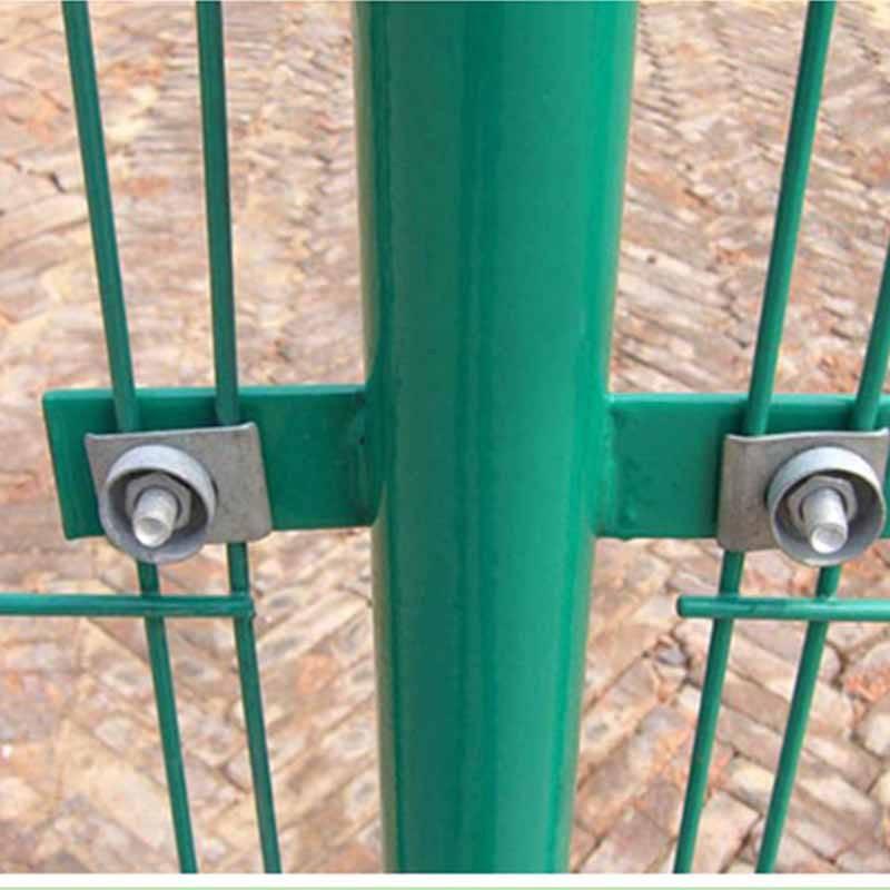 围栏 光伏电厂安全护栏网 商洛双边丝护栏网 优盾焊接隔离栅