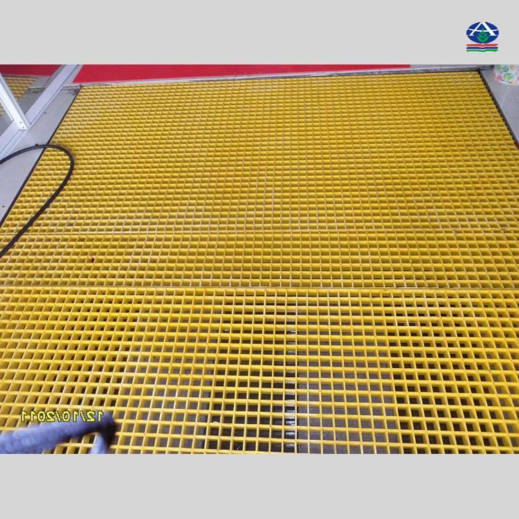 滨州洗车房格栅 东营刷车场漏水板 玻璃钢材质 【河北华强】