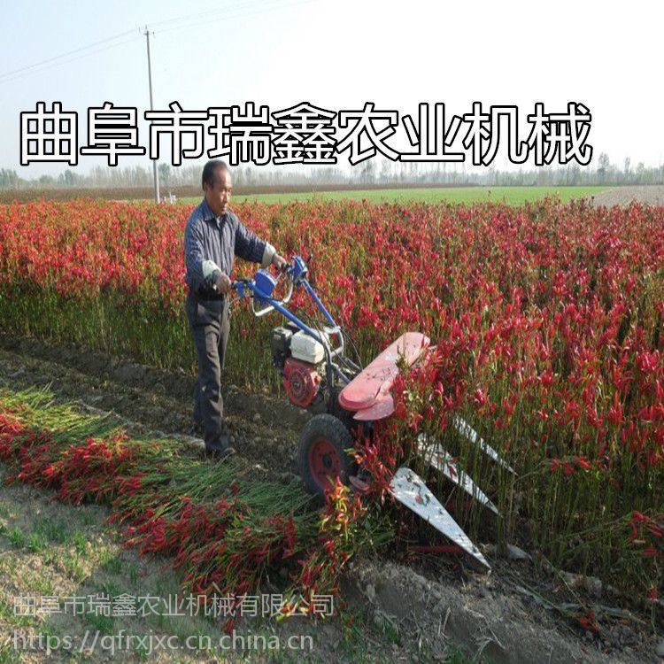 高产四轮带割晒机 手扶式玉米牧草收割机 宽幅收稻麦割晒机