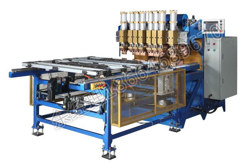 全自动龙门式排焊机,龙门式网片焊接机,全自动冰箱网片焊机