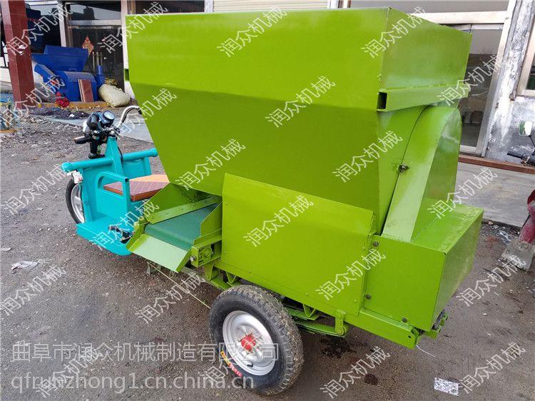 作业速度快电动撒料车 便于装卸电动撒料车 润众