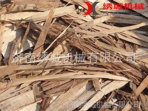 看绣城木屑机如何玩转废旧木料