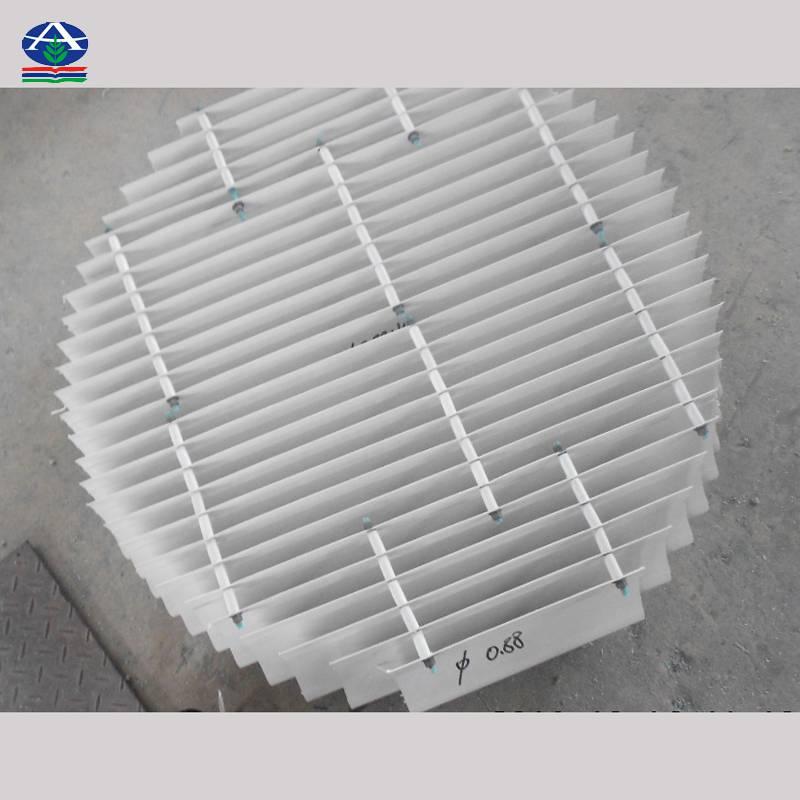 湿法脱硫除雾器结构 二通道除雾器型号 150型 170型 180型 【河北华强】