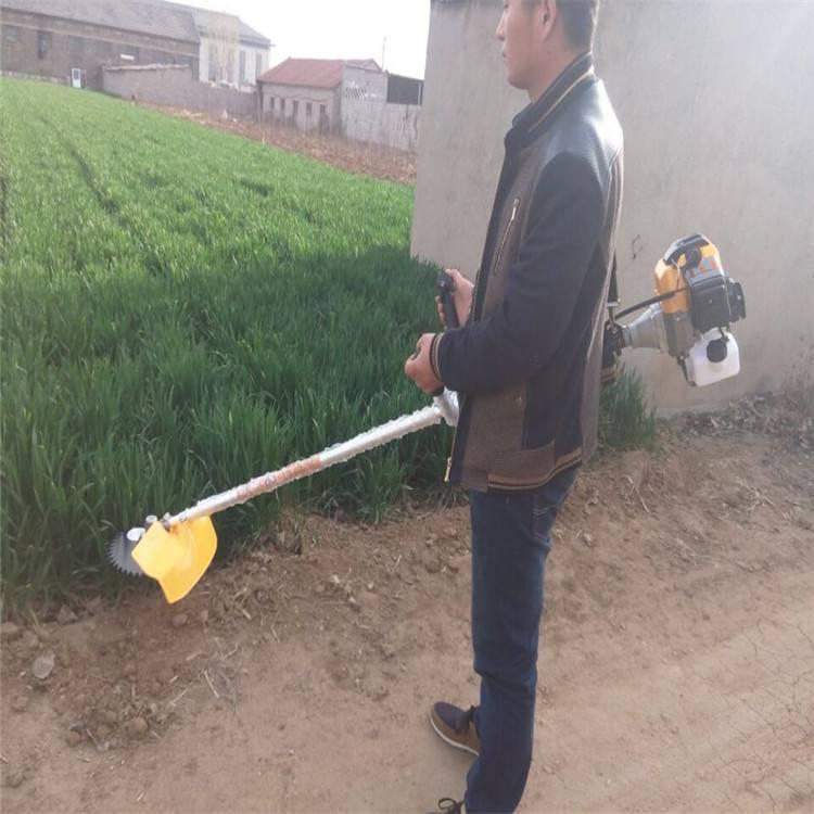 大马力手推剪草机 手扶自走式杂草剪草机