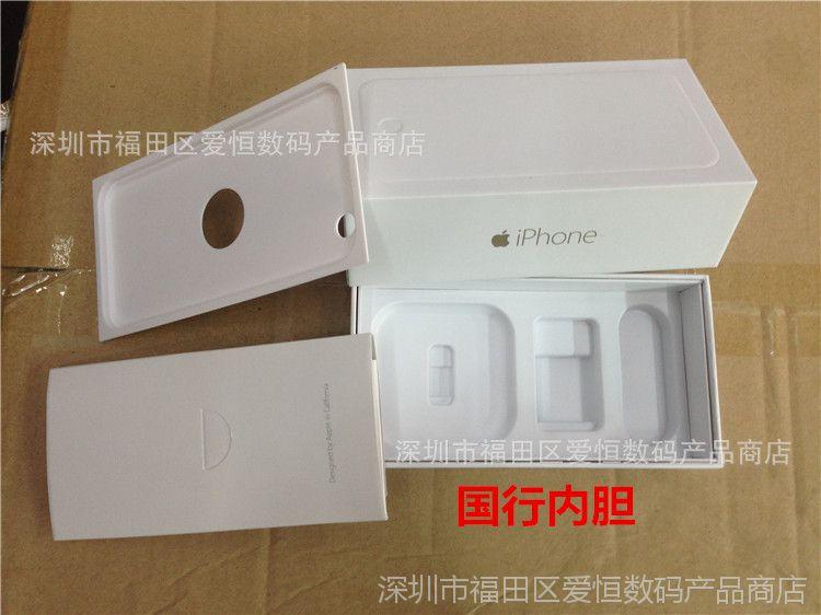 【苹果iPhone6手机包装盒6plus美版国行港版大iphonewifi开不了图片