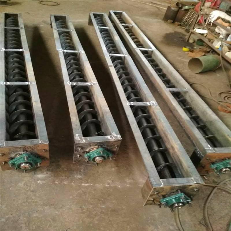 兴运厂家批发定制移动干粉剂上料绞龙输送机 无缝管倾斜式移动螺旋给料机