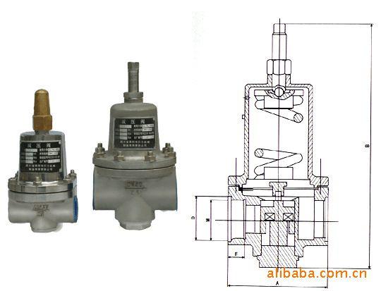 供应专业生产 低温减压阀液氧液氮液氩调压阀图片