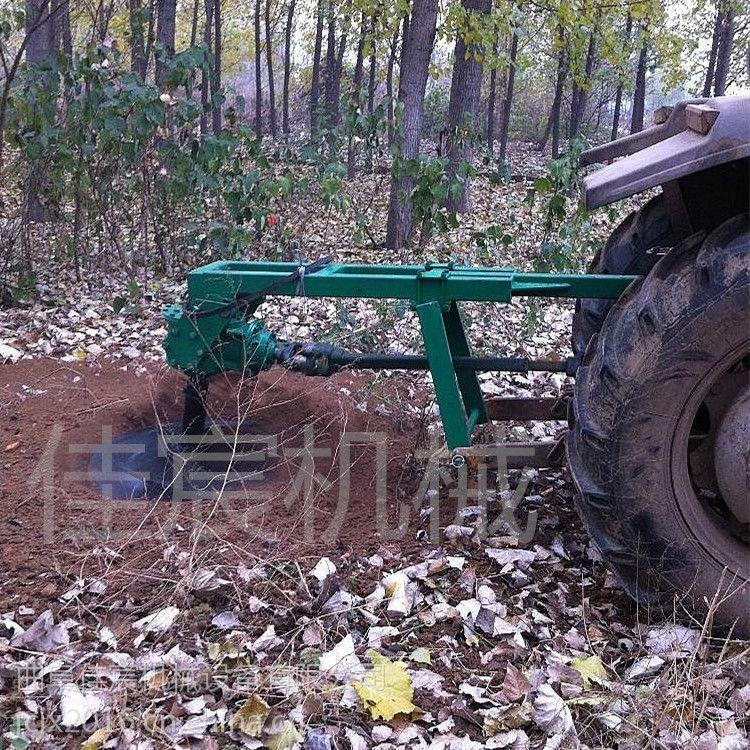 小型植树挖坑机厂家直销 手提式树坑机 汽油机地钻 拖拉机配套挖坑机