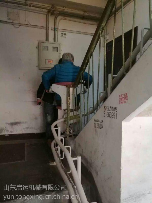 别墅安装楼梯斜挂式电梯 启运厂家定制老年人座椅电梯邯郸市 马鞍山市 天津