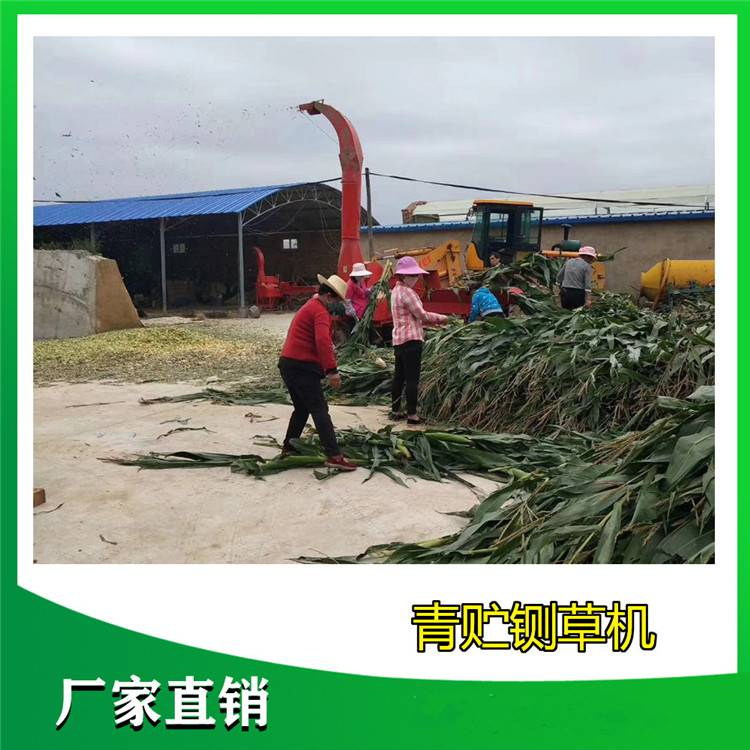 青贮大型铡草揉搓机 牧草秸秆揉丝机 铡草粉碎机